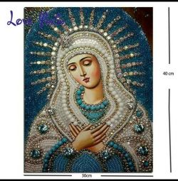 Picture for the calculation of rhinestones. Full display.