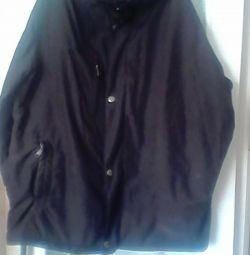 Куртка черная на синтепоне