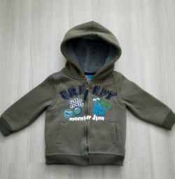 Jacket with fur Topolino р.92