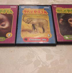Фильмы о животных на DVD BBC