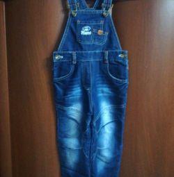 Children's jeans - overalls