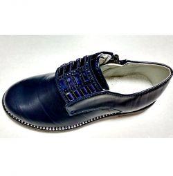 Туфлі темно-сині 26-31