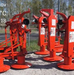 Mower rotor Poland PM10