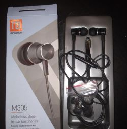 New headphones Langsdom M305