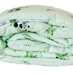 2 bedroom blanket, bamboo.