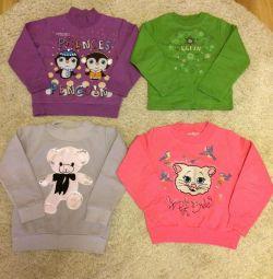 Πουλάω μονωμένες μπλούζες για κορίτσια!
