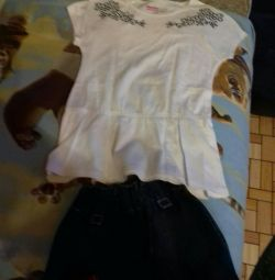 Φούστα και μπλούζα