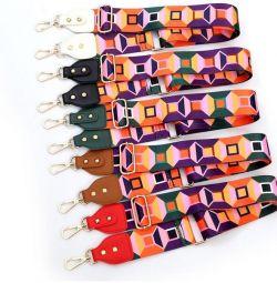 Belt for a bag textile