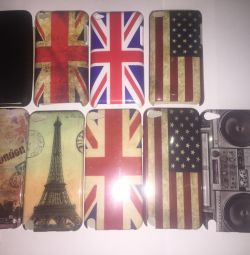 IPod touch 4/5 cover cases (new)