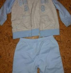 Children's sports suit Carter (Carter) 62-68 cm