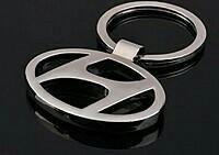 Key chain with Hyundai car logo