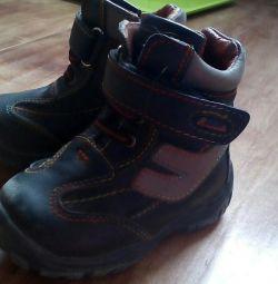 Μπότες των 22 μεγεθών