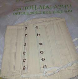 Orthopedic corset for children