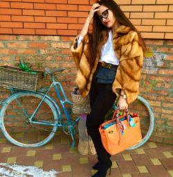 Mink fur coat expensive fur urgently