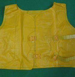 Жилет детский надувной для плавания Bestway 3-6 л