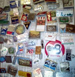 Old Soviet 200 badges