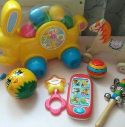 πακέτο παιδικών παιχνιδιών για το μικρότερο