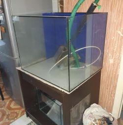 Aquarium 200l + stand