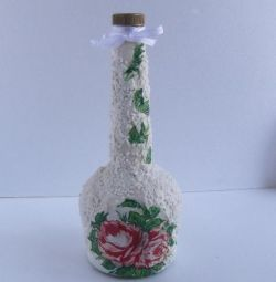 оформление бутылок на праздники