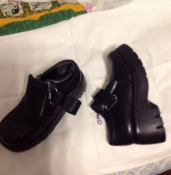 Women's shoes new natures p38 leather on 37