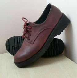 Оксфорды женские • ботинки