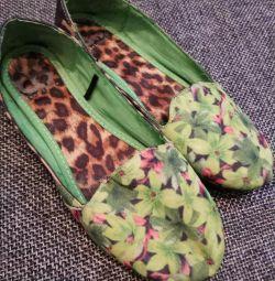 Pantofi de balet pantofi r. 36