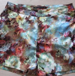 pantaloni scurți cu talie înaltă