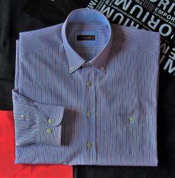 Сорочка сорочка Emidio Tucci Іспанія оригінал 44
