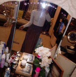 Сукня з відкритою спинкою (42-46)