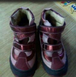 черевики зебра