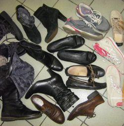 Обувь пакетом можно 230-240мм кожа