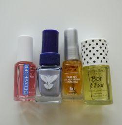 ?NEW cosmetics. Lacquer, pencil, oil
