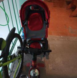 Bicicletă pentru copii (cărucior)