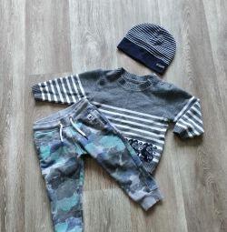 Sweatshirt pants 80 size