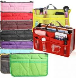 New travel cosmetic organizer