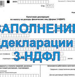 Συμπλήρωση δήλωσης 3-NDFL
