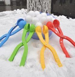 Snowballol New 6 și 7,5 cm bulgăre de zăpadă