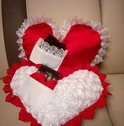 Καρδιά μαξιλαριού