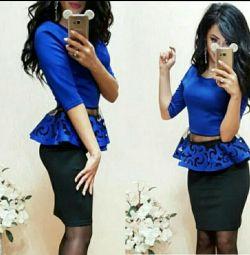 Комплект юбка и блузка