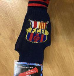 Gaiters FC Barcelona, children, new