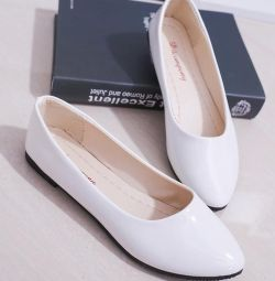 White new shoes