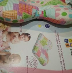 Orthopedic pillow for children