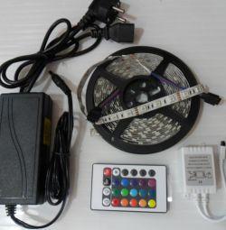 Kit de panglică LED 14,4 W / m IP65