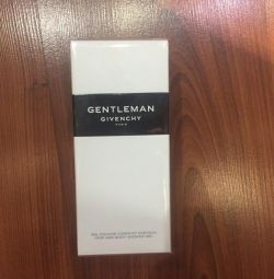 New givenchy gentlemen shower gel, Original.