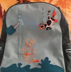 Backpack with orthopedic back