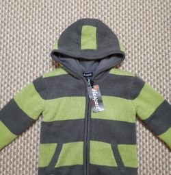 The new Respect sweatshirt for a boy of 5-6 years old