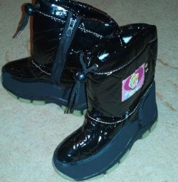 Boots for the girl. Winter