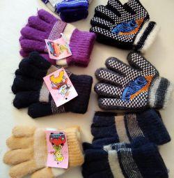 Перчатки детские(новые)