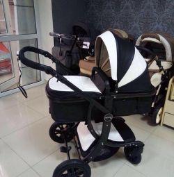 Noul cărucior cu transformator din piele ecologică