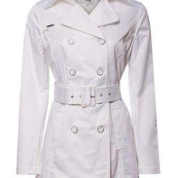 White Trench Coat / Coat